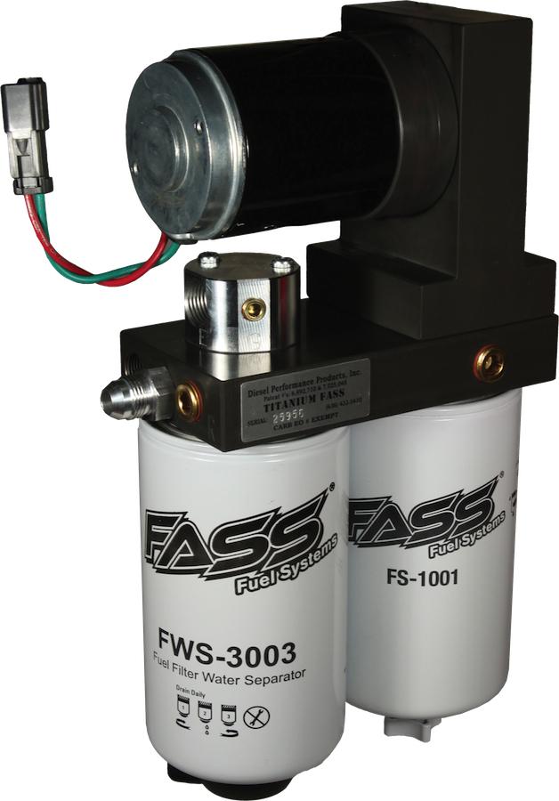 Fass Titanium Series 200 Gph Fuel Pump 55 Psi For 1999 2007 Ford 7 3l 6 0l Powerstroke